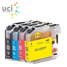4 Ink Cartridge for Brother LC223 MFC-J4625DW MFC-J5320DW MFC-J5620DW