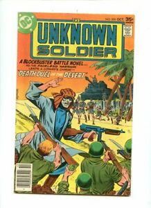 The Unknown Soldier #208,209 (1972) VG+