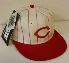 NEW Vtg Deadstock Cincinnati Reds New Era 5950 Wool Fitted Hat Cap 6 5/8 Diamond