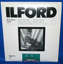 Ilford MGIV 8 x 10 Multigrade IV FB Fiber Brilliant Glossy 25-Pack Photo Paper