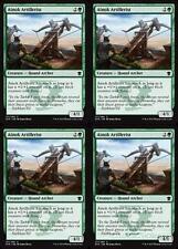 4x AINOK ARTILLERIST Dragons of Tarkir MTG Green Creature — Hound Archer Com