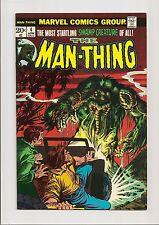MAN-THING (v1) #4 VF 8.0 ORIGIN OF FOOLKILLER! ***BRONZE AGE*** 1974