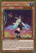 Chocolate Magician Girl - MVP1-ENG52 - Gold Rare - 1st Edition x1