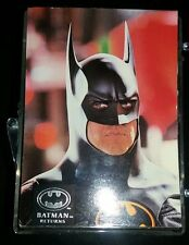 TOPPS BATMAN RETURNS CARDS Stadium Club Vtg Complete except missing 1 card 100