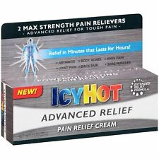 Icy Hot Advanced Pain Relieving Cream 2 max strength 2 oz