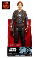Star Wars Rogue One Jyn Erso Big Figure + blaster 18 inch Toy Action Figure NEW