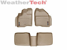 WeatherTech FloorLiner for Taurus/Five Hundred/Montego/Sable - 1st/2nd Row - Tan