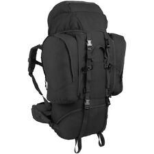 MFH Backpack Alpin 110 Military Police Army Rucksack Tactical Camping Black