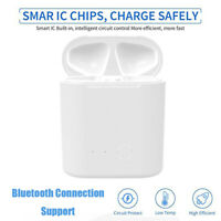 Bluetooth Wireless Charging Charger Cover Case Box Replacement for Airpods 1/2