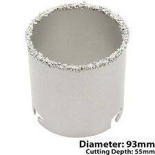 93mm Diameter Tungsten Carbide Grit Core Drill Bits -Wall/Floor/Tile Hole Cutter