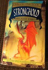 Stronghold Dragon Star Book #1 Melanie Rawn Paperback w/Michael Whelan Cover Art