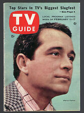 1956 Tv Magazine COVER ONLY ~ PERRY COMO ~ SINGER ~ Front & Back Covers Only