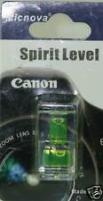 Hot Shoe Axis Double Bubble Spirit Level Canon 7D T3I 600D T2I 1DIV 1DIII 60D 5D