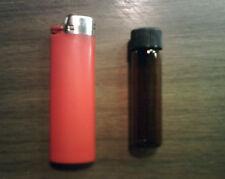 5 Amber Glass Vials 17 X 60 Mm 2 Dram With Screw Cap