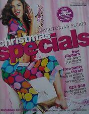 ALESSANDRA AMBROSIO Christmas Specials 2007 VICTORIA'S SECRET Catalog