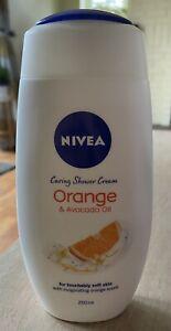 Nivea Orange & Avocado Oil Shower Cream 6 x 250ml