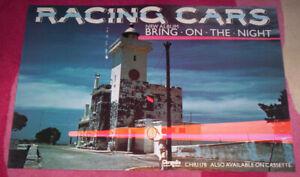 RACING CARS ~ ORIG 1978 PROMO POSTER. EX+.