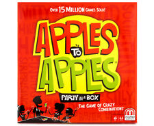 NEW Mattel Apples to Apples Hilarious Family Fun Card Game Party in a Box Kids!