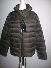 ZARA  Ultra Light Puffer dark Brown black Jacket Size XS