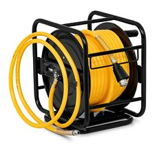 Compressed Air Hose Reel Manual Hand Crank Compressor Hose Reel 30m 18bar