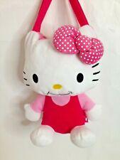 Sanrio Hello Kitty Large Stuffed Plush Animal Handbag Purse Bag