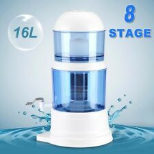 8 Stage Large Water Filter Purifier Distiller Ceramic Carbon Mineral Dispenser
