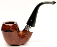 Peterson Sherlock Holmes Watson Silver Mounted Pipe 9mm Filter + Free Pipe Tool