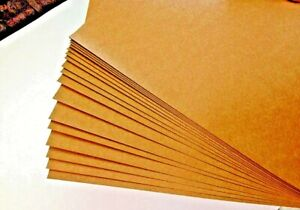 50 x Brown Kraft Paper Sheets A4 75GSM Natural Recycled- Premium Quality Au Made