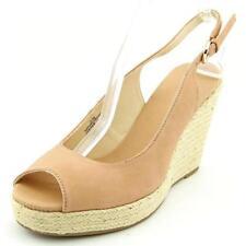 Sandalias con tiras de mujer de color principal beige talla 41