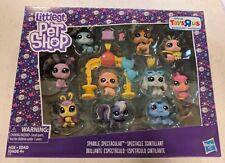 Littlest Pet Shop Sparkle Spectacular Set Toys R Us Exclusive 10 Glitter Pets