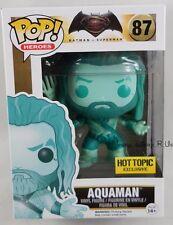 Funko DC Comics Pop! Aquaman #87 Hot Topic Exclusive Batman Vs Superman Blue