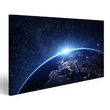 Erde Weltall Bild auf Leinwand Poster ADL-1K