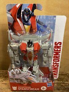"Transformers Authentics Decepticon Starscream 4"" / 10cm Action Figure Hasbro 6+"