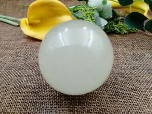 50mm- Natural Xiuyan jade Massage Ball Crystal Quartz Sphere