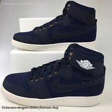 NIKE AIR JORDAN 1 KO High Retro OG Baskets Pour Homme Original Obsidian Chaussures UK 10