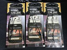 3  Yankee Candle  BLACK COCONUT  Car  Air Freshener