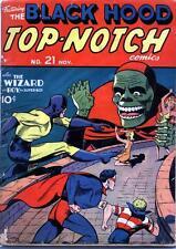 Top Notch Comics #21 Photocopy Comic Book, Black Hood