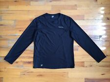 Kalenji Novadry System 1 Running Cycling Pullover Long Sleeve Black Top Sz Xs