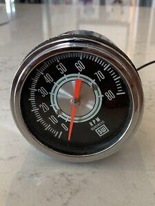 1960'S STEWART WARNER SW GREENLINE 8000 RPM TACH TACHOMETER Clean!!