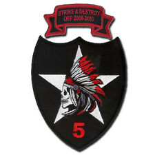 5-2 Infantry (5th Stryker Brigade) STRIKE & DESTROY Embroidered Patch and Tab