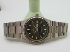VINTAGE OMEGA SEAMASTER COSMIC 2000 BLACK DIAL DAYDATE AUTOMATIC MAN'S WATCH