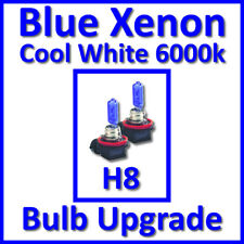 Cool White 6000K Xenon Headlight Bulbs Front Fog Light H8 35W (x2)