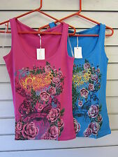 Stretch Floral Sleeveless Other Tops for Women