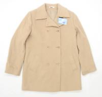 Marks & Spencer Womens Size 10 New Blend Beige Jacket