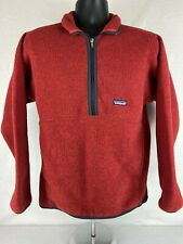 Vintage Patagonia Marsupial Mens 1/2 Zip pullover Sweater Size Small S