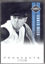 CHRIS REED  DODGERS RC PROSPECT 2011 PANINI LIMITED #40  #ed/199