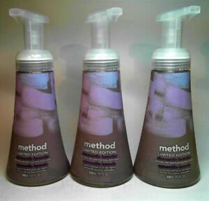 METHOD LIMITED EDITION CHAMOMILE LAVENDER NATURALLY DERIVED FOAMING HAND WASH