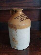 More details for vintage stoneware ceramic beer bottle durand, sedgwick & bird watford