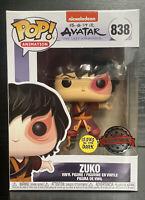 Pop! Animation.Avatar Last Airbender- Zuko Glows in Dark #226 Funko Pop Vinyl