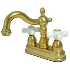 Kingston Brass Ks1602Px 4 Inch Center Set Lavatory Faucet With Brass Pop-Up -...